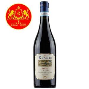 Rượu Vang Klanis Syrah Cortona