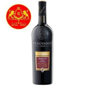 Rượu Vang Pirovano 1910 Primitivo Puglia