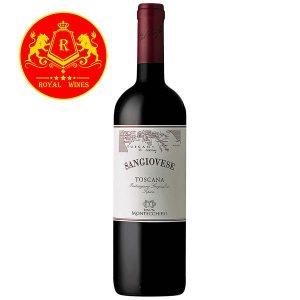 Rượu Vang Sangiovese Toscana Montecchiesi