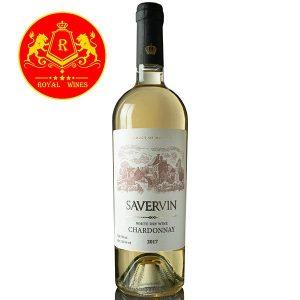 Rượu Vang Savervin Chardonnay