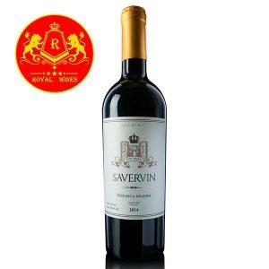 Rượu Vang Savervin Feteasca Neagra