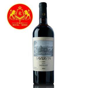 Rượu Vang Savervin Grand Merlot