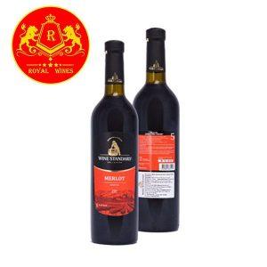 Rượu Vang Wine Standard Merlot