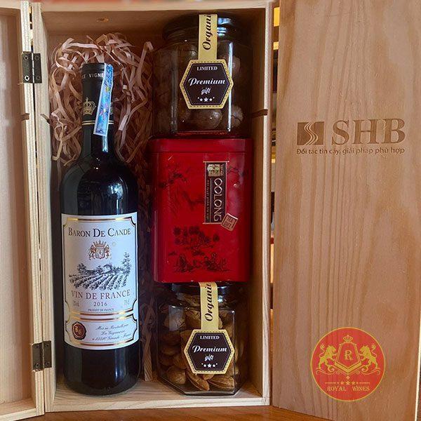 Hộp Quà Tặng Rượu Vang Tết Tân Sửu 2021 Rw01