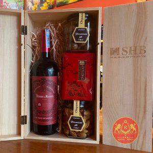 Hộp Quà Tặng Rượu Vang Tết Tân Sửu 2021 Rw02
