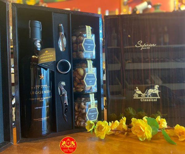 Hộp Quà Rượu Vang Tết Tân Sửu 2021 Rw07