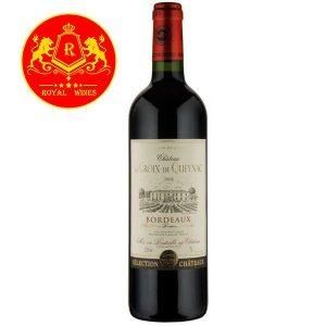Rượu Vang Chateau La Croix De Queynac