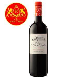 Rượu Vang Chateau Le Grand Verdus
