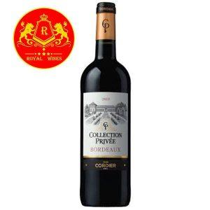 Rượu Vang Collection Privee Bordeaux Cordier