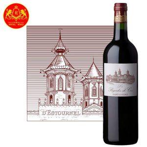 Rượu Vang Les Pagodes De Cos Saint Estephe 1