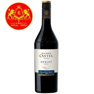 Rượu Vang Maison Castel Merlot Bordeaux