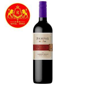 Rượu Vang Pampas Del Sur Select Cabernet Merlot
