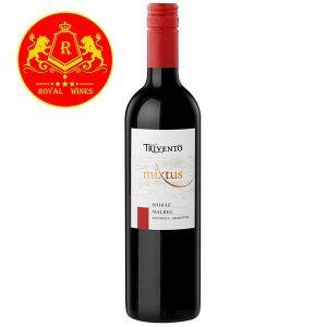 Rượu Vang Trivento Mixtus Shiraz Malbec