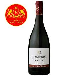 Rượu Vang Rimapere Pinot Noir Single Vineyard