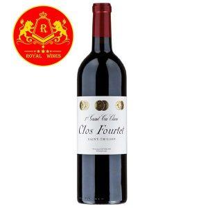 Rượu Vang Clos Fourtet Saint Emilion