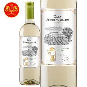 Rượu Vang Casa Subercaseaux Sauvignon Blanc