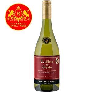 Rượu Vang Casillero Del Diablo Reserva Especial Sauvignon Blanc