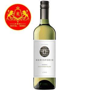 Rượu Vang Hemisferio Reserva Sauvignon Blanc