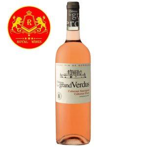 Rượu Vang Hong Chateau Le Grand Verdus