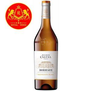 Rượu Vang Maison Castel Bordeaux Sauvignon Blanc