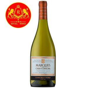 Rượu Vang Marques De Casa Concha Chardonnay