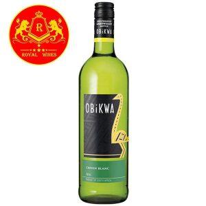 Rượu Vang Obikwa Chenin Blanc