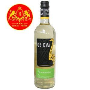 Rượu Vang Obikwa Sauvignon Blanc