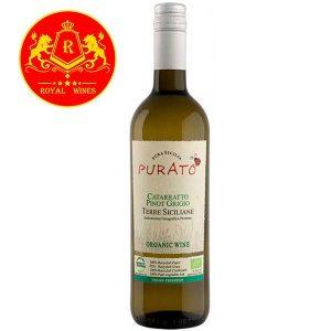 Rượu Vang Purato Catarratto Pinot Grigio Organic