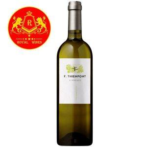 Rượu Vang Trang F Thienpont Bordeaux