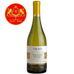 Rượu Vang Trio Reserva Chardonnay Pinot Grigio Pinot Blanc