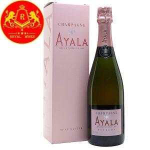 Rượu Champagne Ayala Rose Majeur