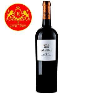 Rượu Vang Abando Crianza Rioja