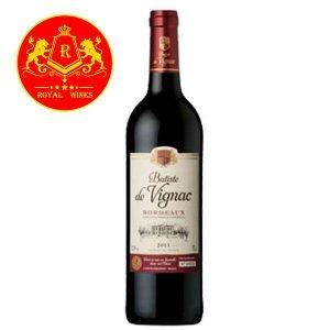 Rượu Vang Batiste De Vignac Bordeaux