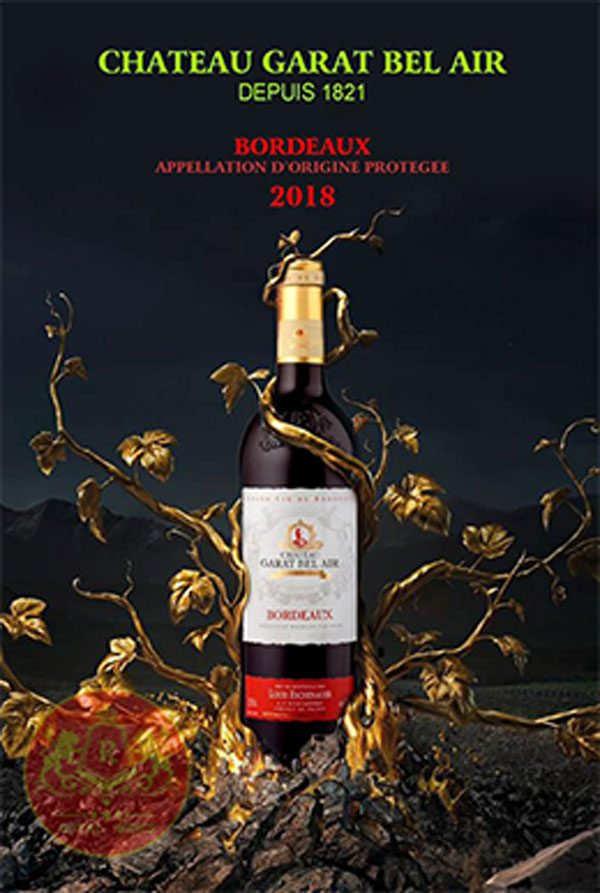 Ruou Vang Chateau Garat Bel Air Bordeaux