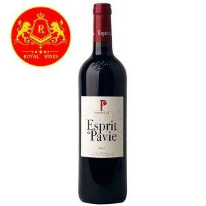 Rượu Vang Esprit De Pavie Bordeaux