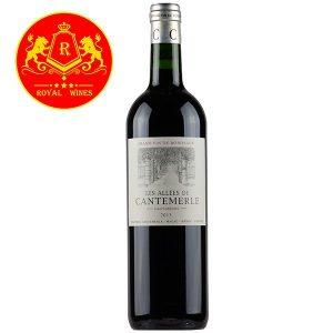 Rượu Vang Les Allees De Cantemerle Haut Medoc