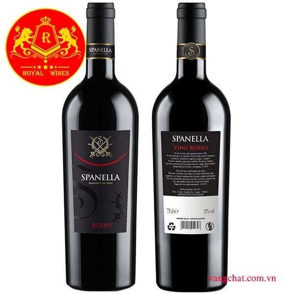 Ruou Vang Spanella Rosso