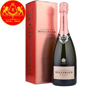 Rượu Champagne Bollinger Rose