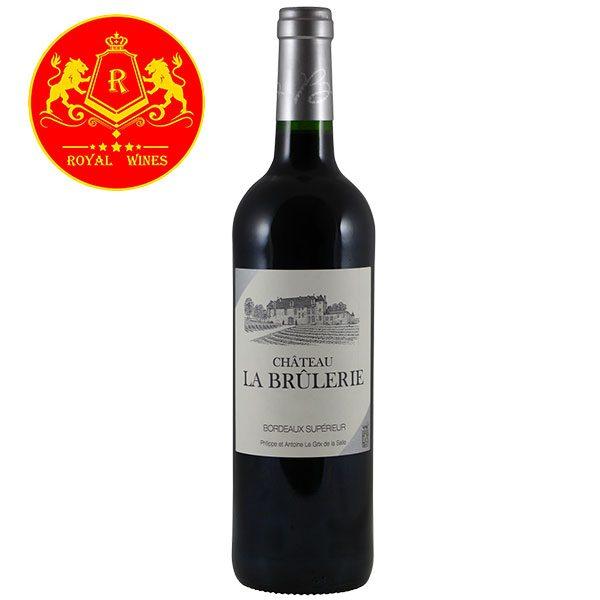Rượu Vang Chateau La Brulerie Bordeaux Superior