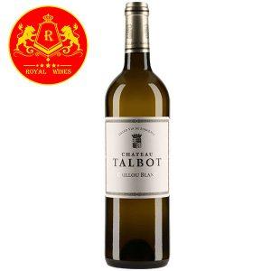 Rượu Vang Chateau Talbot Caillou Blanc