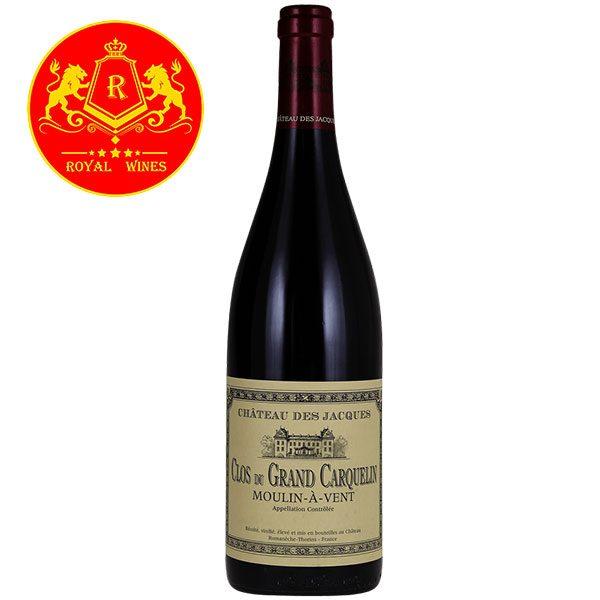 Rượu Vang Clos Du Grand Carquelin Moulin A Vent