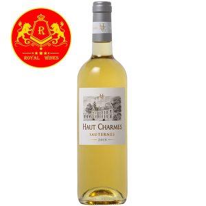 Rượu Vang Haut Charmes Sauternes