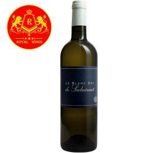 Rượu Vang Le Blanc Sec De Suduiraut
