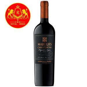 Rượu Vang Marques Casa Concha Etiqueta Negra