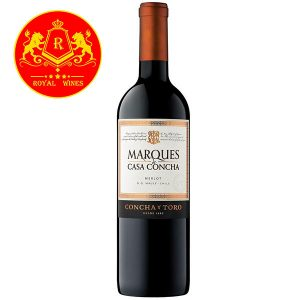 Rượu Vang Marques De Casa Concha Merlot