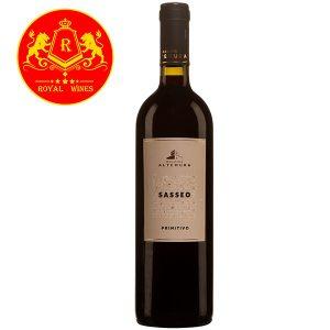 Rượu Vang Masseria Altemura Sasseo Primitivo