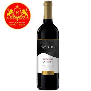 Rượu Vang Montefrio Tempranillo La Mancha
