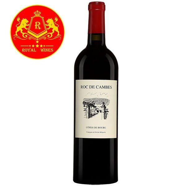 Rượu Vang Roc De Cambes Cotes De Bourg