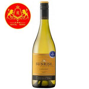 Rượu Vang Sunrise Chardonnay Concha Y Toro