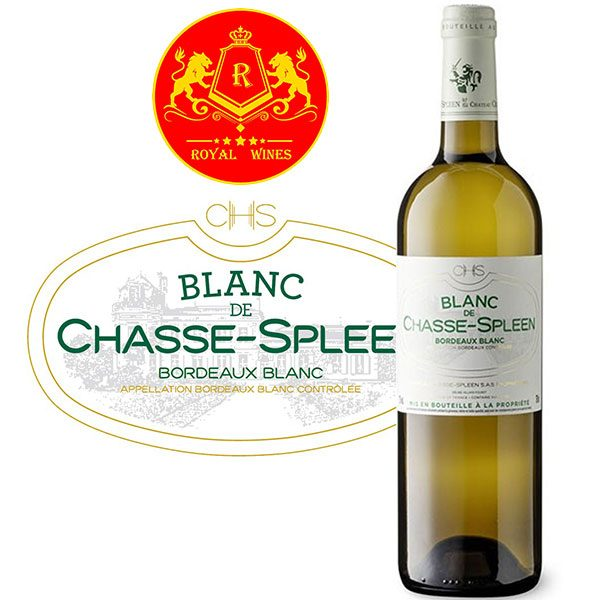 Rượu Vang Trang Blanc De Chasse Spleen